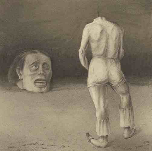 Alfred Kubin: Selbstbetrachtung (Self-Observation)