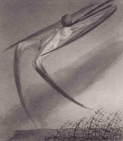 Alfred Kubin: Jede Nacht besucht uns ein Traum (Every Night We are Haunted by a Dream)
