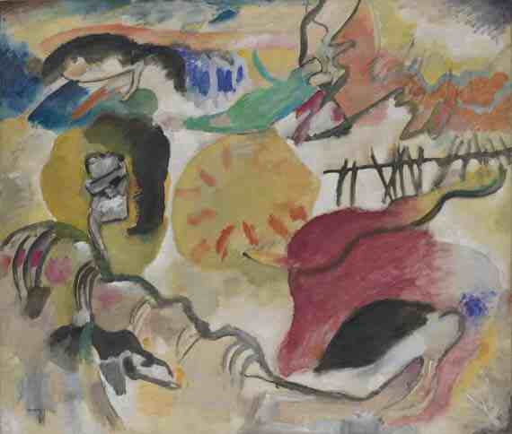 Vasily Kandinsky, Improvisation 27 (Garden of Love II)
