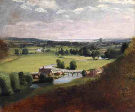John Constable: The Valley of the Stour