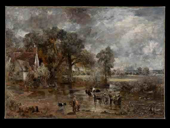 John Constable: Full scale study for The Hay Wain