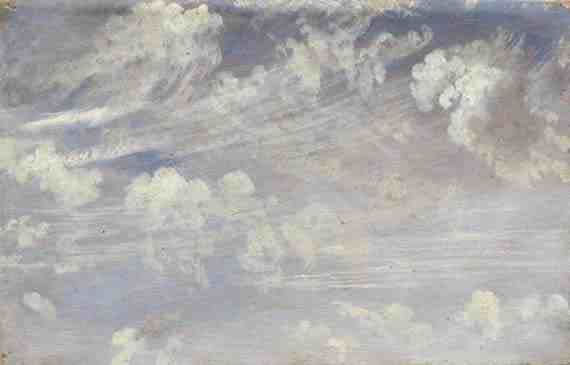 John Constable: Study of Cirrus Clouds