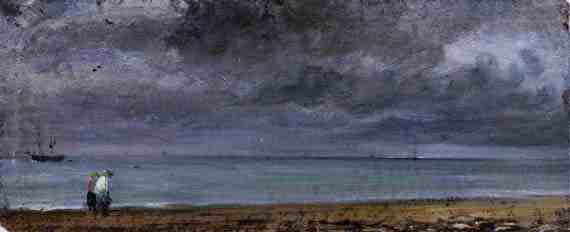 John Constable: Brighton Beach
