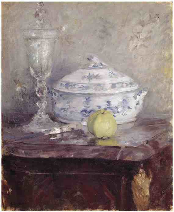 Berthe Morisot, Tureen and Apple