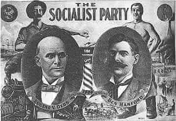Eugene Debs Socialist flyer
