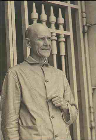 Eugene Debs at the Atlanta Federal Penitentiary