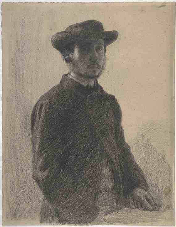 Edgar Degas, Self-Portrait