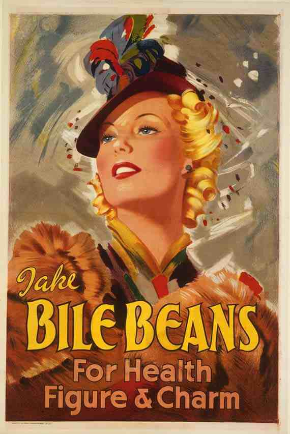 Poster: Take Bile Beans for Health, Figure & Charm