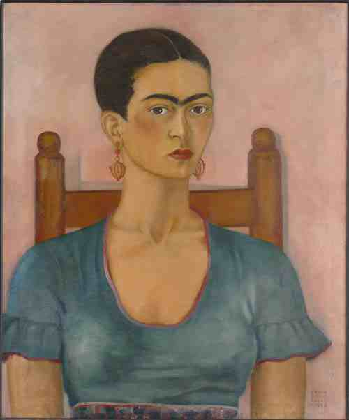 Frida Kahlo: Self Portrait 1930