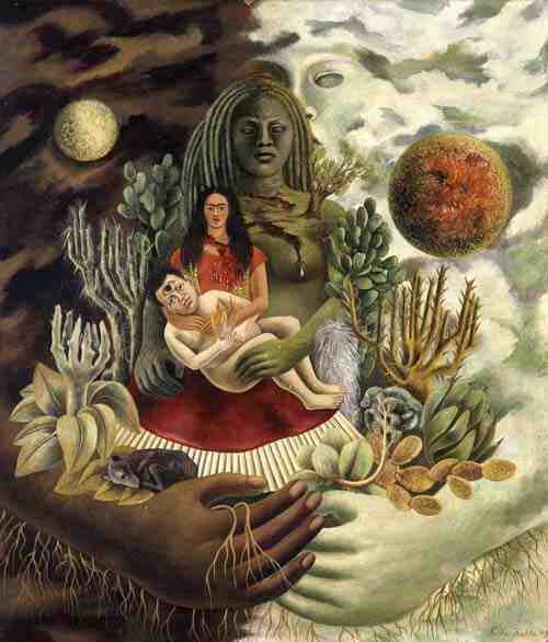 Frida Kahlo: The Love Embrace of the Universe