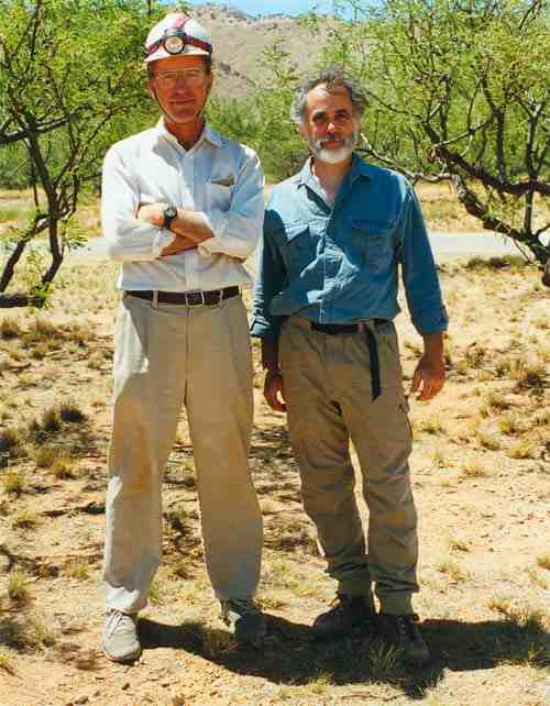 Kartchner Caverns: Randy Tufts and Gary Tenen
