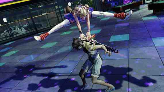 Lollipop Chainsaw video game