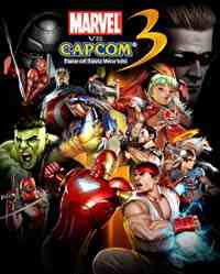 Marvel Versus Capcom 3: Fate of Two Worlds box art