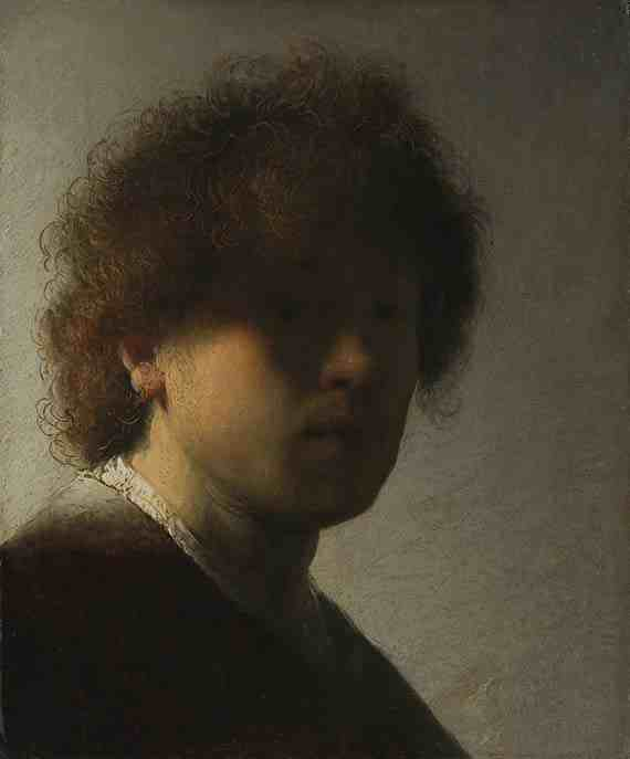 Rembrandt: Self-Portrait as a Young Man