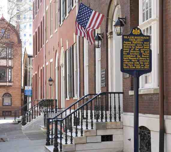 Rosenbach Museum and Library, Philadelphia, PA
