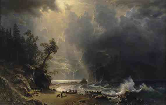 Puget Sound on the Pacific Coast, Albert Bierstadt