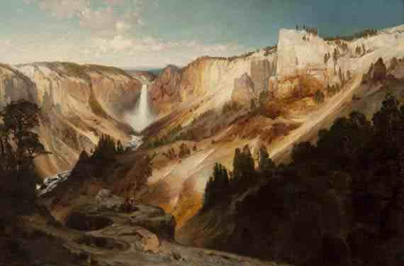 Grand Canyon of the Yellowstone Thomas Moran