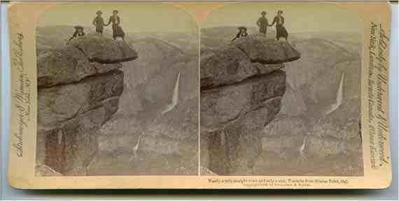 Yosemite Stereograph
