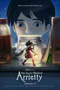 Movie Poster: The Secret World of Arrietty
