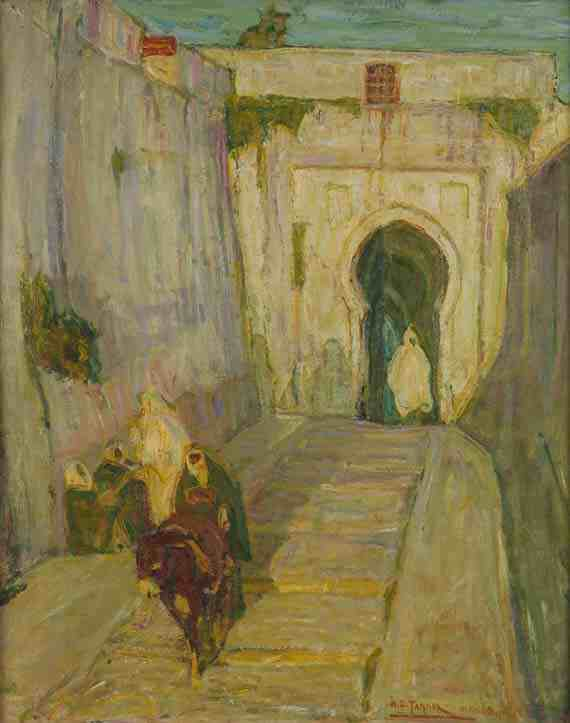 Henry Ossawa Tanner: Entrance to the Casbah