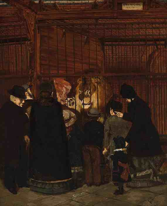 Henry Ossawa Tanner: Pomp at the Zoo