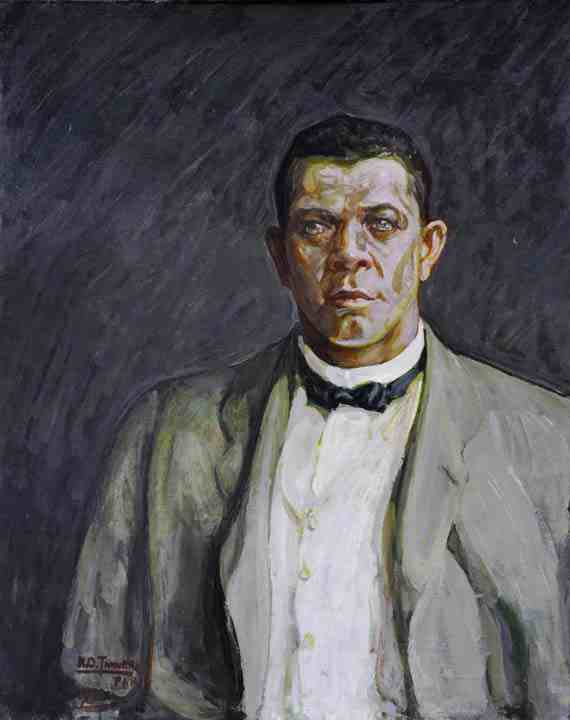 Henry Ossawa Tanner: Portrait of Booker T. Washington