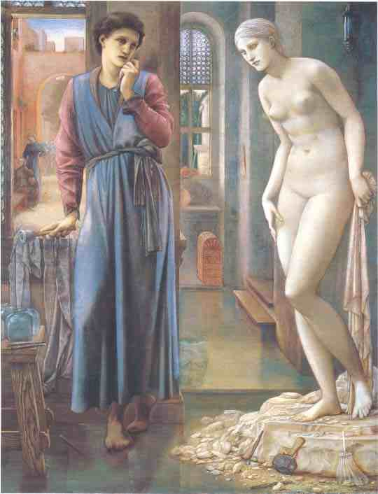 Edward Burne-Jones: The Heart Desires