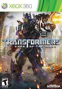 Transformers Dark of the Moon box art