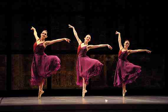 San Francisco Ballet in Tomasson's Trio