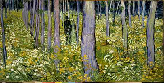 Vincent Willem van Gogh: Undergrowth with Two Figures
