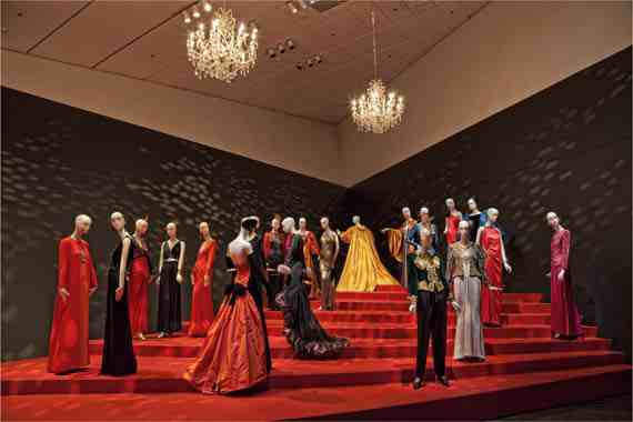 Yves Saint Laurent, Ball Gowns, Denver Art Museum