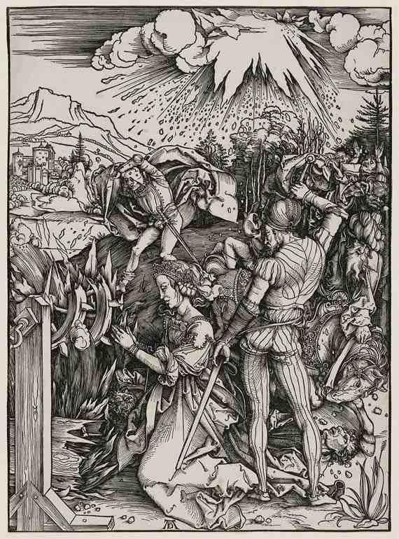 Albrecht Dürer Martyrdom of Saint Catherine