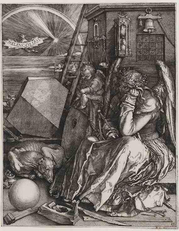 Albrecht Dürer Melencolia I