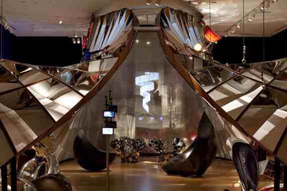 Ron Arad No Discipline installation MoMA