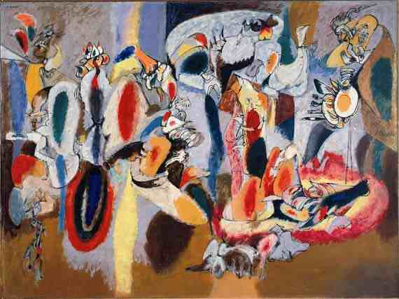 Arshile Gorky: Liver is Cock's Comb