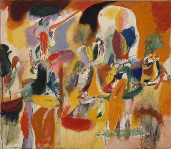 Arshile Gorky: Mechanics of Flying, from Aviation: Evolution of Forms under Aerodynamic Limit
