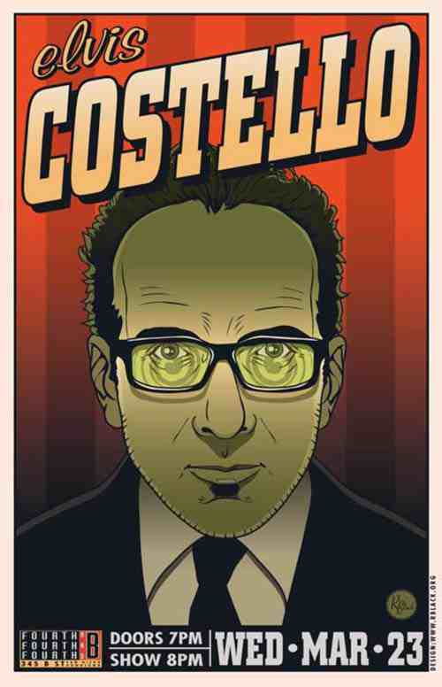 Rich Black: Elvis Costello