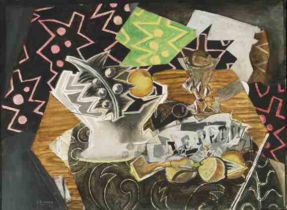 Georges Braque: Still Life with a Fruit Dish