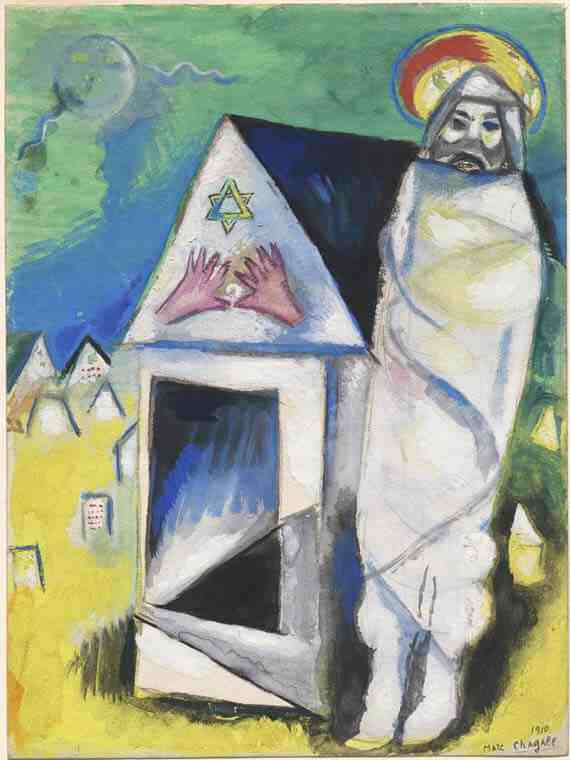 Marc Chagall: Resurrection of Lazarus