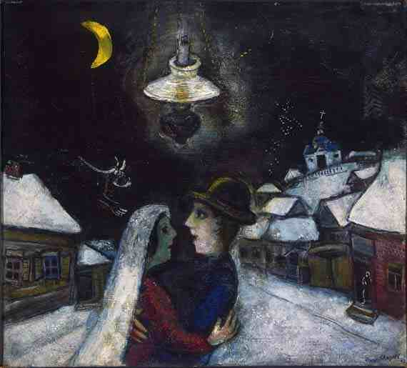 Marc Chagall: In the Night