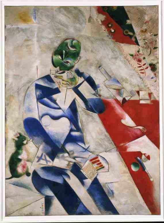 Marc Chagall: Half-Past Three
