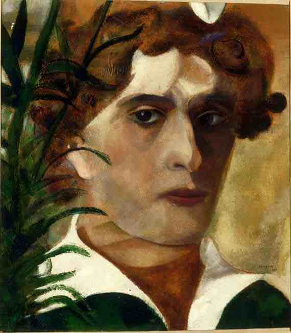 Marc Chagall: Self-Portrait with White Collar