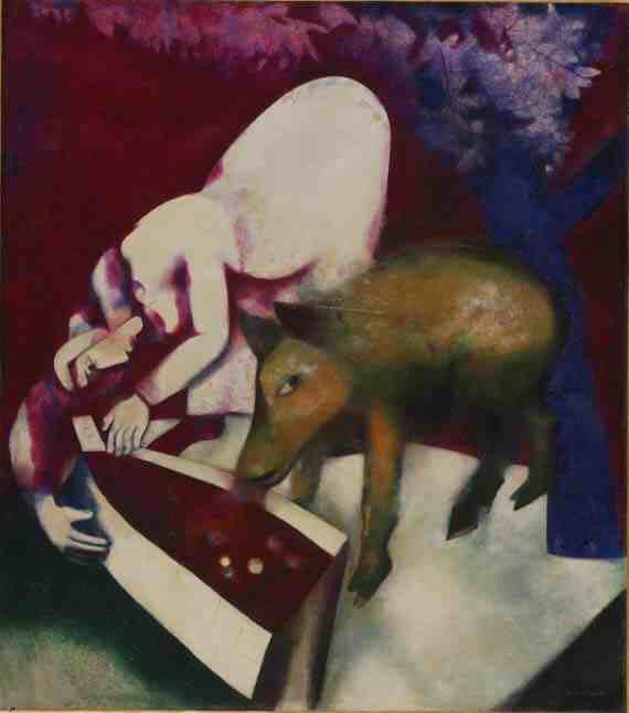 Marc Chagall: The Watering Trough