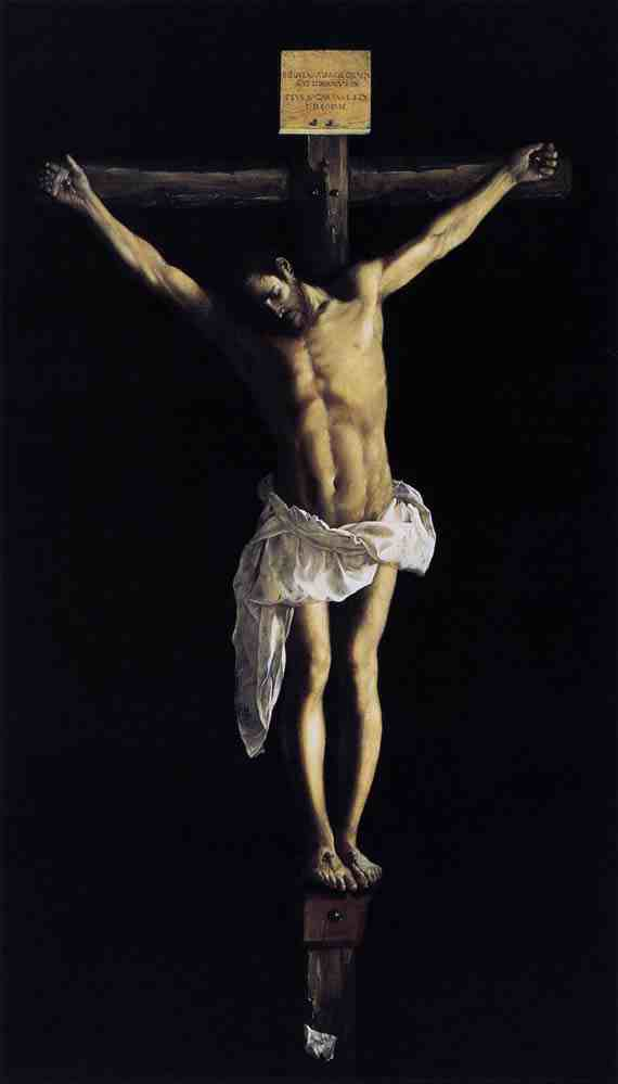 Christ on the Cross (1627) by Francisco de Zurbarán