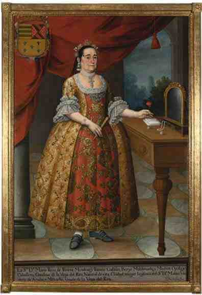 Pedro Jose Diaz: Portrait of Dona Maria Rosa de Rivera