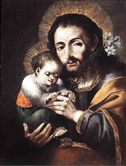 Melchor Perez Holguin, Saint Joseph with the Christ Child