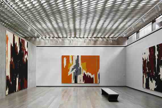 Clyfford Still Museum Exhibit Space