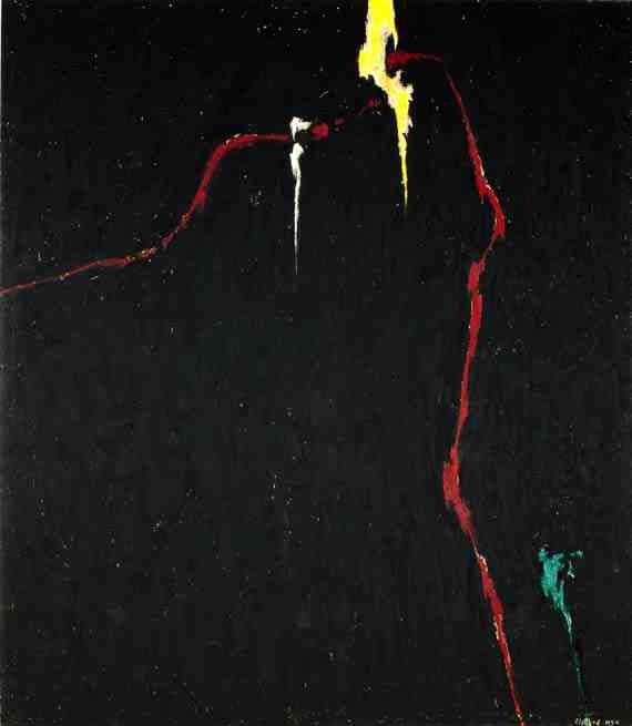 Clyfford Still: 1944-N No. 1