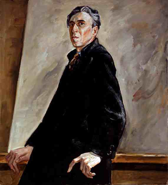 Clyfford Still Self Portrait