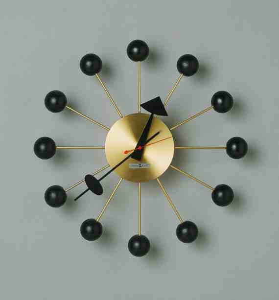 Ball Wall Clock by George Nelson